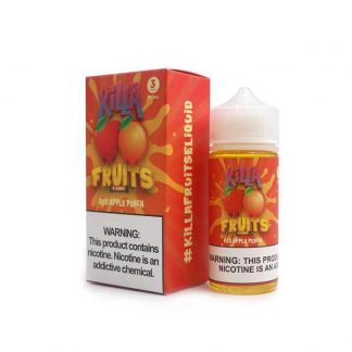 Killa Fruits Red Apple Peach On Ice 100ml