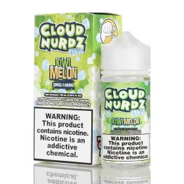 Cloud Nurdz Kiwi Melon Iced
